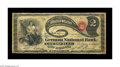 National Bank Notes:Kentucky, Louisville, KY - $2 Original Fr. 389 The German NB Ch. # 2062. Onlya collection as comprehensive as Bill Gale's would o...
