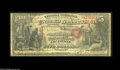 National Bank Notes:Kentucky, Louisville, KY - $5 Original Fr. 399 The Merchants NB Ch. # 2161.This is the only note known from this short lived Loui...