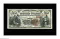 National Bank Notes:Kentucky, Louisville, KY - $20 1882 Brown Back Fr. 501 The Citizens NB Ch. #(S)2164. A lovely $20 Brown Back with great color, si...