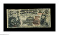 National Bank Notes:Kentucky, Louisville, KY - $100 1882 Brown Back Fr. 530 The LouisvilleNational Banking Company Ch. # 5161. This $100 Brown Back i...