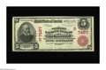 National Bank Notes:Kentucky, Louisville, KY - $5 1902 Red Seal Fr. 587 The Western NB Ch. #(S)7457. This is one of Louisville's scarcest banks, issu...