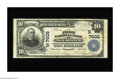 National Bank Notes:Kentucky, Manchester, KY - $10 1902 Plain Back Fr. 624 The First NB Ch. #(S)7605. One of a pair of nice large size notes from thi...