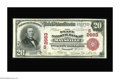 National Bank Notes:Kentucky, Maysville, KY - $20 1902 Red Seal Fr. 639 The State NB Ch. #(S)2663. A very rare Kentucky type and denomination, with t...