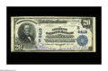 National Bank Notes:Kentucky, Monticello, KY - $20 1902 Plain Back Fr. 650 The Citizens NB Ch. #(S)6419. An attractive Plain Back which is new to the...