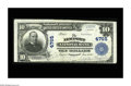 National Bank Notes:Kentucky, Newport, KY - $10 1902 Plain Back Fr. 628 The Newport NB Ch. #4765. Nine large notes are listed in the census, with thi...