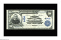 National Bank Notes:Kentucky, Owensboro, KY - $10 1902 Plain Back Fr. 626 The National DepositBank Ch. # 4006. This bank issued under two titles, wit...