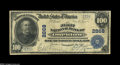 National Bank Notes:Kentucky, Owenton, KY - $100 1902 Plain Back Fr. 698 The First NB Ch. # 2868.A decent evenly circulated $100 Blue Seal to match t...