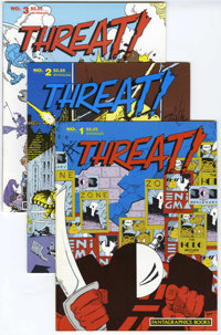 Threat! and Other Magazines Group (Fantagraphics Books, 1975-96) Condition: Average NM-
