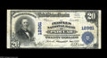 National Bank Notes:Kentucky, Paducah, KY - $20 1902 Plain Back Fr. 661 The Peoples NB Ch. #12961. This is the only large size $20 listed in the cens...