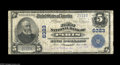 National Bank Notes:Kentucky, Paris, KY - $5 1902 Plain Back Fr. 598 The First NB Ch. # 6323. AFine example of the Plain Back variety with two ba...