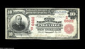 National Bank Notes:Kentucky, Pikeville, KY - $10 1902 Red Seal Fr. 613 The First NB Ch. #(S)6622. Large size serial number 1 examples are hardly com...