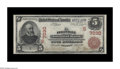 National Bank Notes:Kentucky, Pikeville, KY - $5 1902 Red Seal Fr. 587 The Pikeville NB Ch. #(S)7030. This is one of a cut sheet of $5 serial number ...