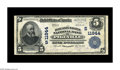 National Bank Notes:Kentucky, Pikeville, KY - $5 1902 Plain Back Fr. 607 The Day & Night NBCh. # (S)11944. This is one of the classically rare and so...