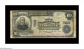 National Bank Notes:Kentucky, Pineville, KY - $10 1902 Plain Back Fr. 624 The Bell NB Ch. # 7215.This ought to be a relatively common bank in large s...