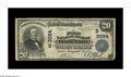 National Bank Notes:Kentucky, Princeton, KY - $20 1902 Plain Back Fr. 650 The First NB Ch. #(S)3064. Only four of the 18 examples documented in the c...
