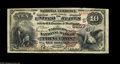 National Bank Notes:Kentucky, Princeton, KY - $10 1882 Brown Back Fr. 490 The Farmers NB Ch. #(S)5257. This was Princeton's other issuer, and a few e...