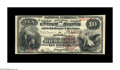 National Bank Notes:Kentucky, Richmond, KY - $10 1882 Brown Back Fr. 481 The Farmers NB Ch. #1309. This attractive piece is one of only two Brown Bac...