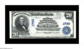 National Bank Notes:Kentucky, Richmond, KY - $20 1902 Plain Back Fr. 653 The Madison NB & TCCh. # 1790. Another example bearing the second title to a...