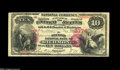 National Bank Notes:Kentucky, Richmond, KY - $10 1875 Fr. 418 The Second NB Ch. # 2374. Anotherof the highlight reel items from this astounding colle...