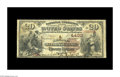 National Bank Notes:Kentucky, Richmond, KY - $20 1882 Brown Back Fr. 498 The Richmond NB Ch. #4430. This institution, which issued Second Charters on...