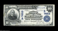 National Bank Notes:Kentucky, Richmond, KY - $10 1902 Plain Back Fr. 624 The Citizens NB Ch. #(S)7653. A pen signed Very Fine example from one of...