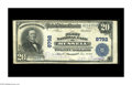 National Bank Notes:Kentucky, Russell, KY - $20 1902 Plain Back Fr. 652 The First NB Ch. # 8792.A nice example from this just plain rare bank, which ...