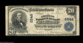 National Bank Notes:Kentucky, Russellville, KY - $20 1902 Plain Back Fr. 650 The Citizens NB Ch.# 6546. This Plain Back $20 offers another opportunit...