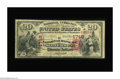 National Bank Notes:Kentucky, Somerset, KY - $20 1875 Fr. 431 The NB of Somerset Ch. # 1748. Agreat note combining extreme bank and type rarity, as t...