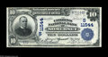 National Bank Notes:Kentucky, Somerset, KY - $10 1902 Plain Back Fr. 632 The Citizens NB Ch. #(S)11544. A very attractive note which is by far the ni...