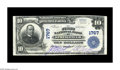 National Bank Notes:Kentucky, Springfield, KY - $10 1902 Plain Back Fr. 627 The First NB Ch. #1767. Seven large notes make up the entire census from ...