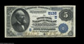 National Bank Notes:Kentucky, Stanford, KY - $5 1882 Date Back Fr. 537 The Lincoln County NB Ch.# (S)5132. This is one of two $5 Date Backs in the ce...