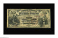 National Bank Notes:Kentucky, Wickliffe, KY - $20 1882 Brown Back Fr. 504 The First NB Ch. #5443. The paper is a bit toned, but this note faces up ni...