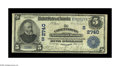National Bank Notes:Kentucky, Catlettsburg, KY - $5 1902 Date Back Fr. 590 The Catlettsburg NBCh. # (S)2740. Large notes only from this better Catlet...
