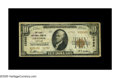 National Bank Notes:Kentucky, Grayson, KY - $10 1929 Ty. 2 The First NB Ch. # 12982. This VeryGood-Fine note is from the only bank to issue small...