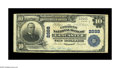 National Bank Notes:Kentucky, Lancaster, KY - $10 1902 Plain Back Fr. 624 The Citizens NB Ch. #2888. This is one of just five large notes recorded in...