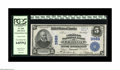 National Bank Notes:Kentucky, Lebanon, KY - $5 1902 Plain Back Fr. 600 The Citizens NB Ch. #3988. A bright, fresh and appealing example with vivid co...