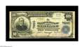 National Bank Notes:Kentucky, London, KY - $10 1902 Plain Back Fr. 625 The NB of London Ch. #7890. A nice note from this extremely scarce bank which ...