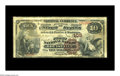 National Bank Notes:Kentucky, Louisville, KY - $10 1882 Brown Back Fr. 479 The First NB Ch. #109. This Fine $10 Brown Back comes from the first b...