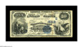 National Bank Notes:Kentucky, Louisville, KY - $10 1882 Value Back Fr. 577 The NB of LouisvilleCh. # (S)5312. A decent specimen of this hard to find ...