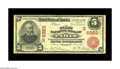 National Bank Notes:Kentucky, Paris, KY - $5 1902 Red Seal Fr. 587 The First NB Ch. # (S)6323. Asingle pinhole is present on this attractive and soli...