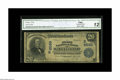 National Bank Notes:Kentucky, Scottsville, KY - $20 1902 Plain Back Fr. 652 The First NB Ch. #(S)8599 A very scarce bank with just four examples lis...