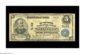 National Bank Notes:Kentucky, Stanford, KY - $5 1902 Plain Back Fr. 606 The Lincoln County NB Ch.# 5132. With 18 large size known, this example is co...