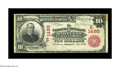 National Bank Notes:Maryland, Baltimore, MD - $10 1902 Red Seal Fr. 613 The National Union Bankof Maryland at Baltimore Ch. # (E)1489. No Red Seals a...