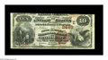 National Bank Notes:Maryland, Baltimore, MD - $10 1882 Brown Back Fr. 490 The Drovers &Mechanics NB Ch. # (E)2499. A pleasing Brown Back with good co...