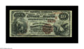 National Bank Notes:Maryland, Baltimore, MD - $10 1882 Brown Back Fr. 490 The Drovers &Mechanics NB Ch. # (E)2499. A decent circulated Brown Back, bu...