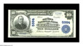 National Bank Notes:Maryland, Baltimore, MD - $10 1902 Plain Back Fr. 634 The Old Town NB Ch. #5984. A bright and fresh example with loads of origina...