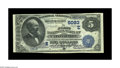 National Bank Notes:Maryland, Catonsville, MD - $5 1882 Date Back Fr. 535 The First NB Ch. #(E)5093. Large notes only from this scarce Baltimore Coun...