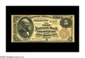 National Bank Notes:Maryland, Frostburg, MD - $5 1882 Brown Back Fr. 471 The First NB Ch. # 4149.This is in our opinion the finest Brown Back known o...