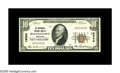 National Bank Notes:Maryland, Hagerstown, MD - $10 1929 Ty. 1 The Nicodemus NB Ch. # 12590. Asingle fold and some wrinkles account for the grade on t...