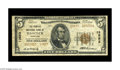 National Bank Notes:Maryland, Hancock, MD - $5 1929 Ty. 2 The Peoples NB Ch. # 13853. A scarcehigh charter example from a seldom seen western Marylan...